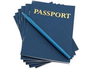 Hygloss My Passport Book for Pretend Trips - Pack of 12