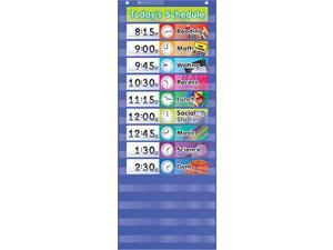 Teacher's Friend Daily Schedule Pocket Chart