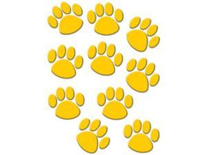 Teacher Created Resources Gold Paw Prints Classroom Accents