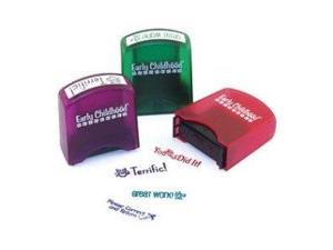 Early Learning Resources - Self Inking Teacher Stamps - Set 1