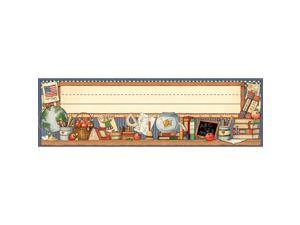 Teacher Created Resources Susan Winget School Time Name Plates - 36 Pack