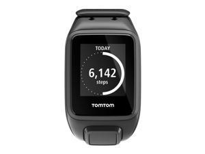 TomTom Spark Music Cardio Watch + Optical HRM & Bluetooth Headphones Black Large