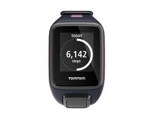 TomTom Spark Music GPS Fitness Watch & Activity Tracker Sky Captain Pink Small