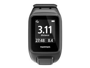 TomTom Spark Cardio GPS Watch Black Size Large