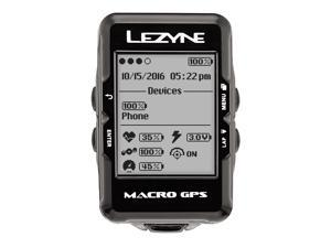 Lezyne Macro GPS Cycling Computer With HR Loaded