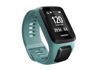 TomTom Spark 3 Cardio GPS Fitness Watch Aqua Size Small