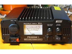 Nissei PS30SWII Max.30A CE/RoHS V/A Meter 120V Switching Power Supply