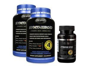 Syntheroid 2pack - Build lean Muscle Mass - Boost Testosterone - Increase Strength