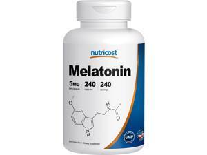 Nutricost Melatonin 5mg&#59; 240 Capsules