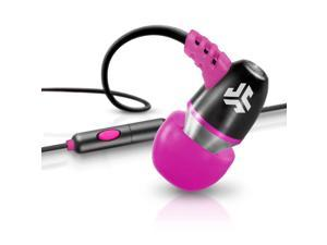 JLab JBuds NEON Metal In-Ear Earbuds with Universal Mic for iPhone & Android