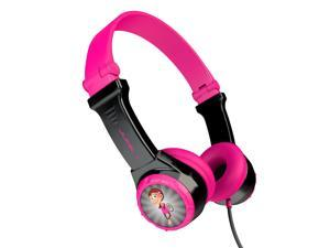 JLAB JK2-BLKPNK-RTL JBuddies(R) Folding Headphones (Black/Pink)