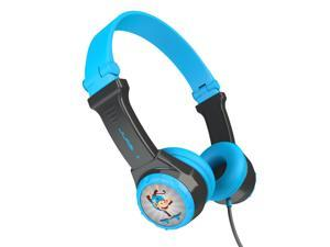 JLAB JK2-GRYBLU-RTL JBuddies(R) Folding Headphones (Gray/Blue)