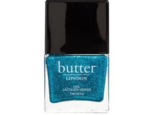 Butter London 3 Free Bright Turquoise Glitter Nail Polish Scallywag