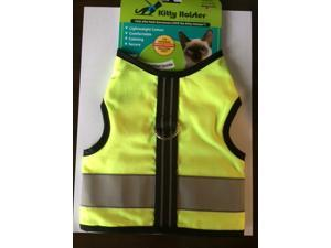 Kitty Holster Reflective Safety Harness M/LYellow