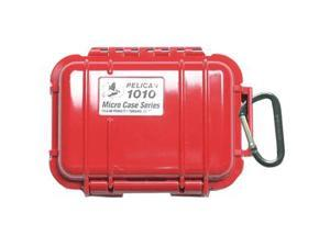 Pelican 1010 Micro Case w/Solid Lid - Red