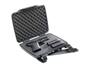 Pelican ProGear P1075 Pistol and Accessory HardBack Case Black
