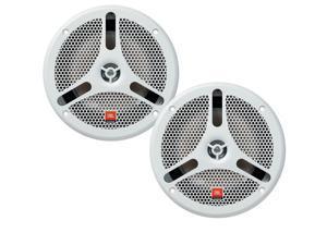 """JBL MS6200 6.5"""" 360W 2-Way Marine Audio Boat Speakers - Pair"""