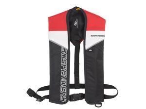 SOSpenders 1271 24G Manual Inflatable Vest - Red