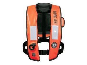 Mustang Inflatable Work Vest with HIT Orange - MD3188