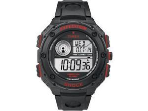 Timex Expedition Vibe Shock Black Red Accent Watch