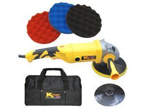 Custom Shop POLISHER-BUFFER 3 Waffle Foam POLISH PADS-Tool Bag Detail Polishing