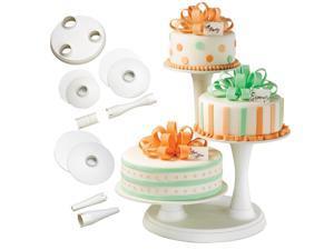 Wilton 3 Tier Pillar Cake Stand Wedding Birthday Party