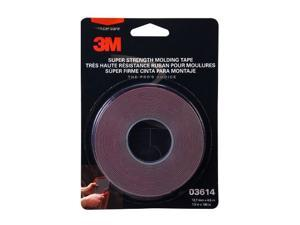 "3M Scotch Mount Super Strength Molding Tape .5"" x 15 ft Tape Roll 3614"
