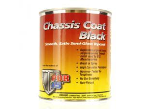POR 15 CHASSIS COAT BLACK Paint Coating PINT POR15 NEW