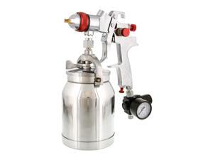 1.4mm HVLP Suction Feed SPRAY GUN w/ AIR REGULATOR Auto Paint Basecoat Clearcoat