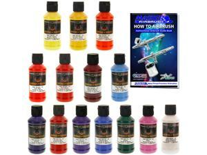 House of Kolor 4oz 14 COLOR KIT SHIMRIN GRAPHIC COLOR SOLID Basecoat Paint