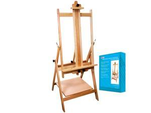 US Art Supply Adjustable Multi-Purpose Studio Artist Easel Painting H-Frame