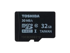 Toshiba 32GB microSD 32G microSDHC micro SD SDHC Card Class 10 UHS-I 30MB/s with SD Adapter