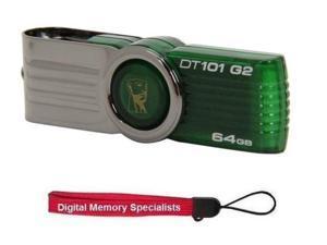 Kingston 64GB DataTraveler 101 G2 64G USB 2.0 Flash Drive Model DT101G2/64GBZ