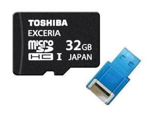 Toshiba UHS-I 32GB microSD 32GB microSDHC micro SD 32G SDHC UHS Card Class 10 with USB 2.0 Reader