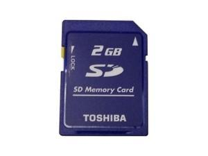 Toshiba 2GB 2G SD 2 GB Secure Digital Flash Memory Card Bulk Packing