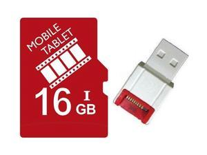 FilmPro 16GB 16G microSD microSDHC micro SD SDHC Card Class 10 Ultra High Speed UHS-I for Mobile & Tablet R10