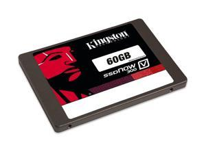 """Kingston SSDNow V300 SSD 60GB SATA III 60G 2.5"""" 6Gb/s Internal Solid State Drive SV300S37A/60G with OEM USB 3.0 Adapter and USB Cable"""