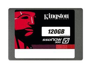 """Kingston SSDNow V300 SSD 120GB SATA III 120G 2.5"""" 6Gb/s Internal Solid State Drive SV300S37A/120G with OEM USB 3.0 Adapter and USB Cable"""