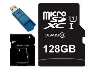 Major OEM 128GB microSDXC UHS-I 70MB/s Class 10 128G microSD micro SD SDXC Flash Memory C10 Card fit Samsung Galaxy S5 SONY Z2 with USB 3.0 Card Reader