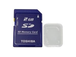 Toshiba 2GB SD 2G 2 GB Secure Digital Flash Memory Card Bulk Pack
