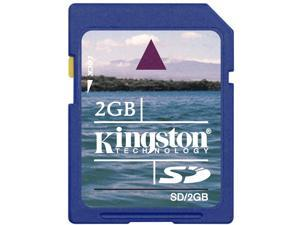 Kingston 2GB SD 2G SD 2 GB v1.1 Secure Digital Flash Memory Card support old camera Bulk Packing fits Nintendo, Wii