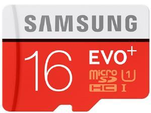 Samsung EVO Plus 16GB microSDHC 80MB/s UHS-I Class 10 16G microSD micro SD SDXC MB-MC16DA C10 Flash Card