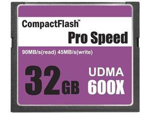 3C Pro 32GB CF 32G CompactFlash Card UDMA7 Extreme Speed 600X UDMA 7