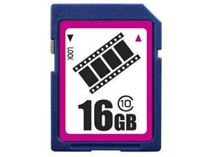 FilmPro 16GB SD 16GB SDHC Card Class 10 Extreme Speed for Camera