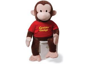 """Gund 36"""" Curious George in Red Shirt"""