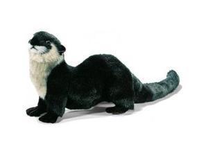 Hansa River Otter Stuffed Plush Animal - Laying
