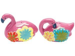 Boston Warehouse Flamingo and Friends Salt and Pepper Set