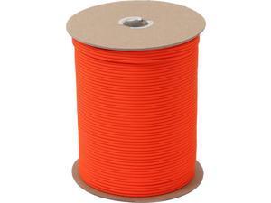 Safety Orange Nylon Paracord 550LB 1000 Feet Spool