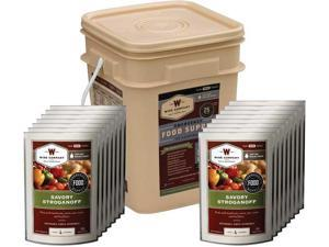 Wise Emergency 60 Serving Entree Only Grab & Go Bucket