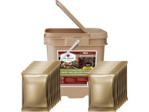 Wise Emergency 60 Serving Protein Meal Grab & Go Bucket